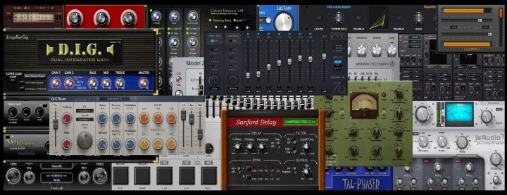 About free VST effects and VST instruments
