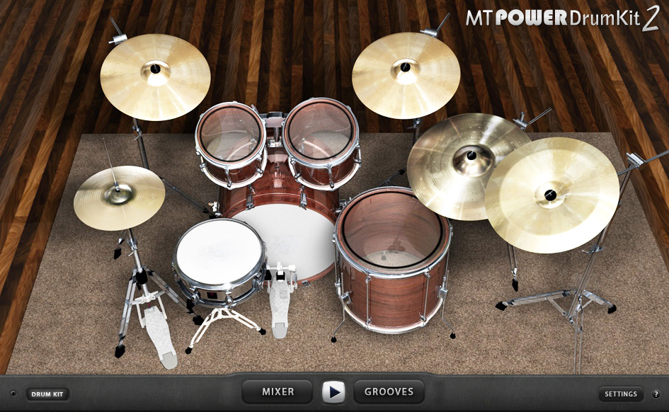 MT Power Drum Kit by MANDA audio