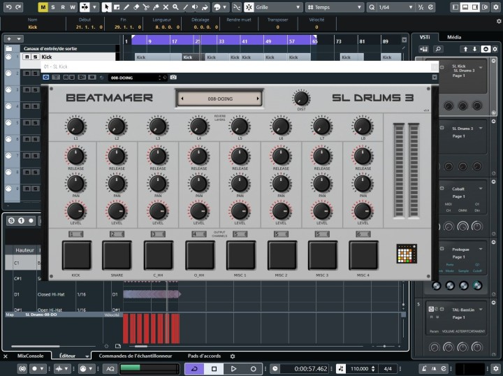 Getting started with the Beatmaker SL Drums 3