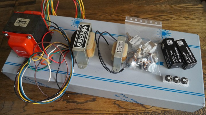 STEP BY STEP DIY GUITAR TUBE AMP PROJECT