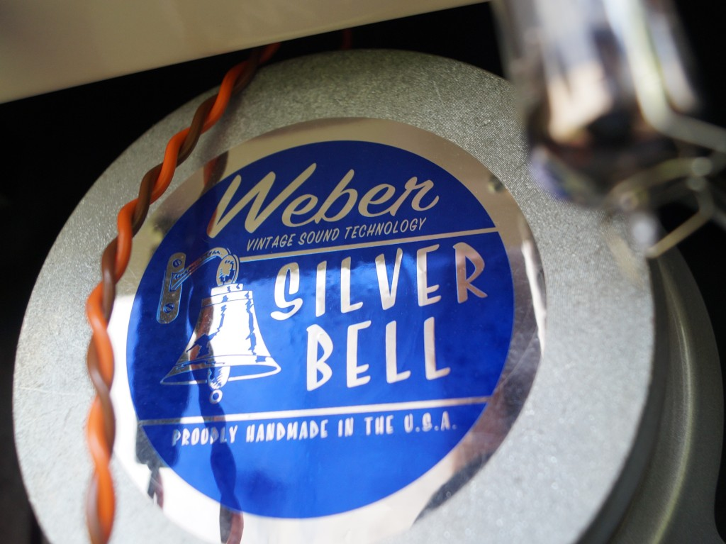 Weber Speakers Ceramic Silver Bell
