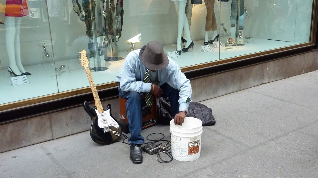New York City - FIfth Avenue - Blues
