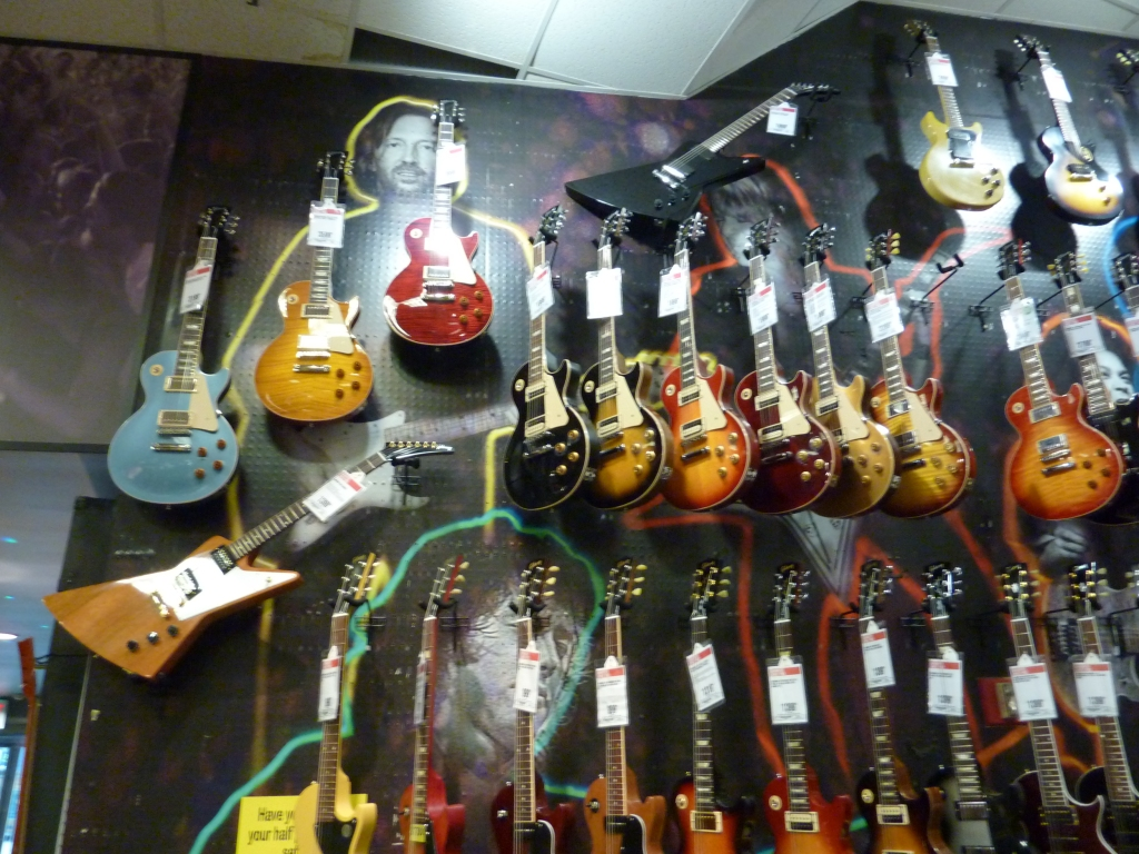 New York City - Guitar Center