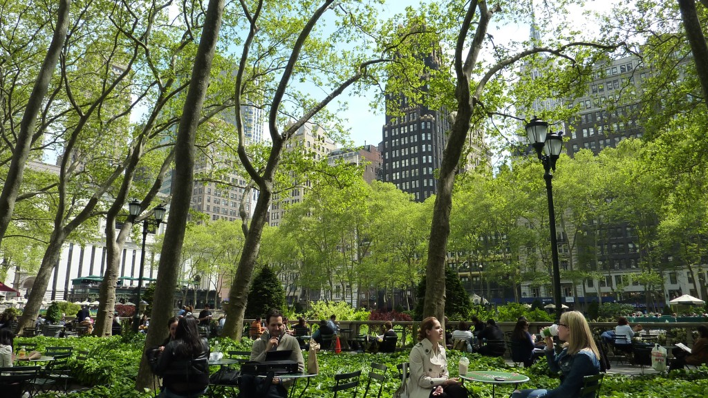 New York City - Bryant Park